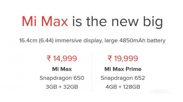 Meluncur Resmi, Xiaomi Mi Max Prime Dibanderol Rp 3,9 Juta