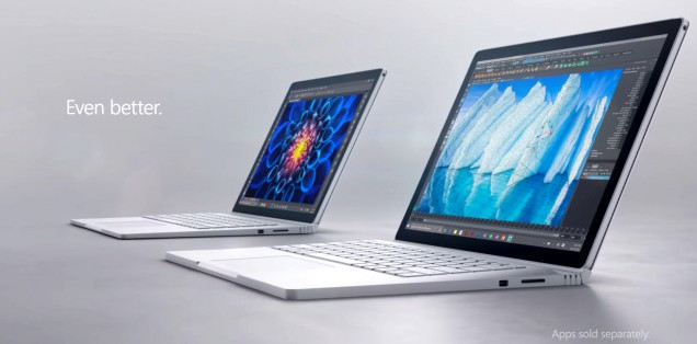 Microsoft Umumkan Surface Book i7 dan Surface Studio PC
