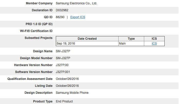 Samsung Galaxy J3 (2017) Sudah Disertifikasi Bluetooth SIG