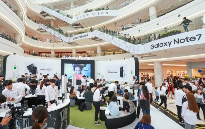 Sekali Lagi, Samsung Galaxy Note 7 Diluncurkan Keseluruh Dunia