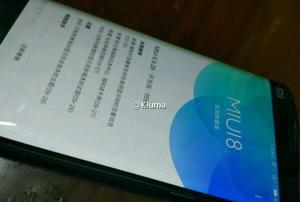 Xiaomi Mi Note 2 Pakai MIUI 8 Muncul dalam Bocoran