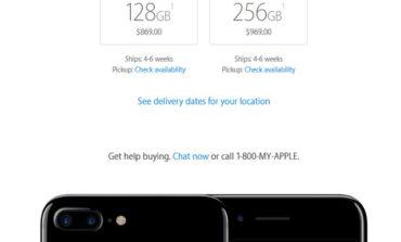 iPhone 7 Plus Jet Black Baru Akan Dikapalkan November 2016