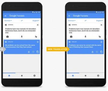Hasil Terjemahan Google Translate Makin Akurat dengan Mesin Translasi Neural
