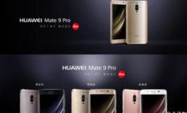 Huawei Mate 9 Pro (Non-Porsche) Diluncurkan