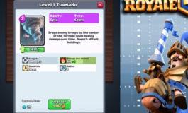 Kartu Baru Clash Royale: Tornado