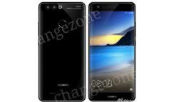 Tampang Huawei P10 Berlayar Lengkung Seperti Samsung Galaxy S7 Edge