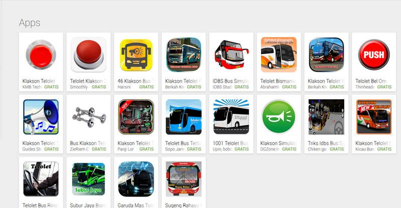 Aplikasi Ringtone Om Telolet Om Membanjiri Google Play Store