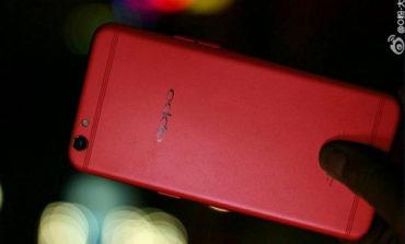 Oppo R9s Berbalut Bodi Merah Segera Diluncurkan