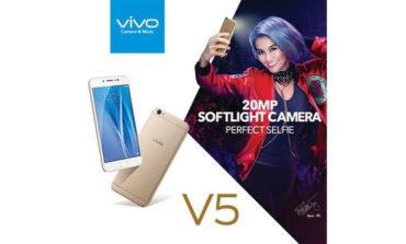 Penjualan Resmi Vivo V5 di Indonesia Sudah Dimulai