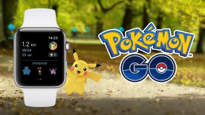 Pokemon Go Kini Hadir di Apple Watch