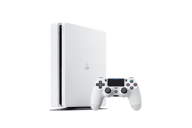 Eloknya Tampang PS4 Slim Warna Putih yang Bakal Rilis Januari 2017