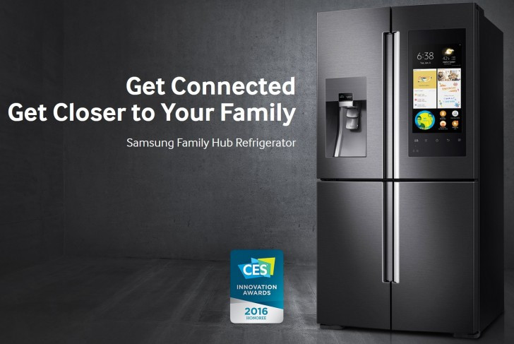 Family Hub 2.0, Keluarga Baru Kulkas Samsung di CES 2017