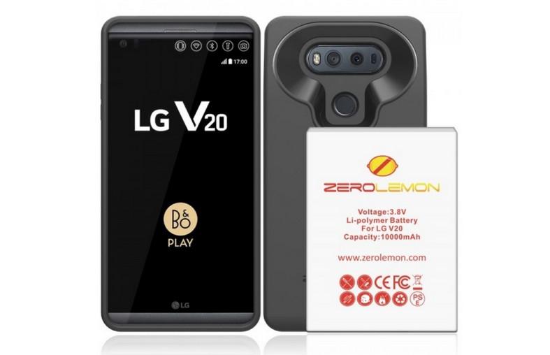 Pakai Case ZeroLemon untuk LG V20.