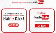 Paket Internet 4G Telkomsel Terbaru Halo Kick! Mulai Rp 100 Ribu