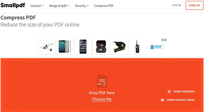 Cara Memperkecil Ukuran File PDF Menjadi Kecil Online ...