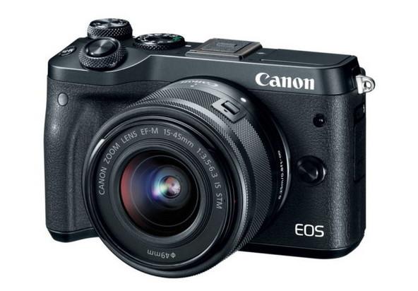 Canon Umumkan Mirrorless EOS M6, Berapa Harganya?