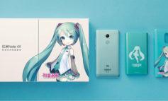 Xiaomi Luncurkan Redmi Note 4X Bawa Aktris Vocaloid Hatsune Miku