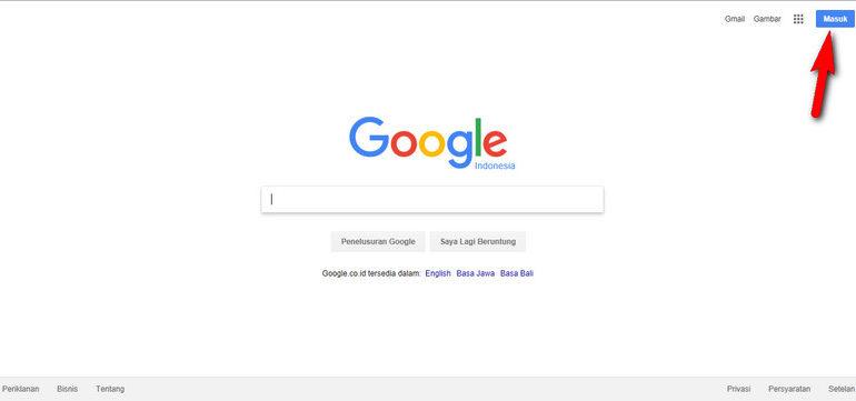 Buka Google.co.id