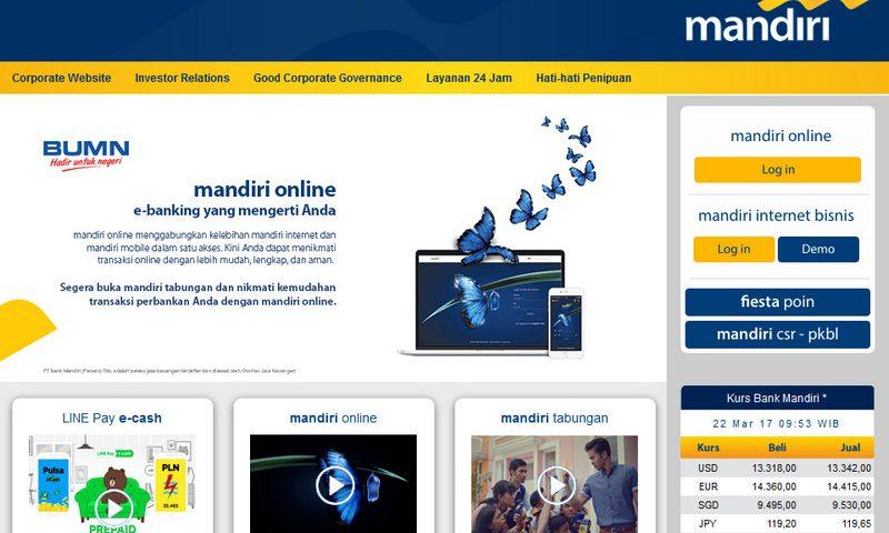 Mandiri Online (Internet Banking) dengan Antarmuka Baru, Sudahkan Anda Login Hari Ini?