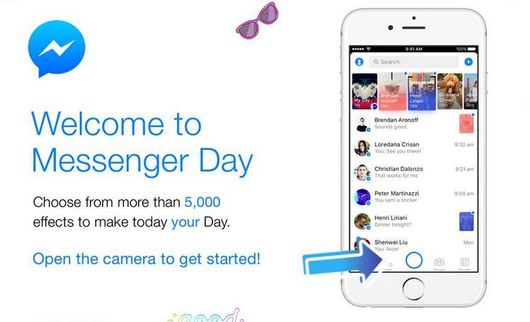 Messenger Day, Fitur Baru Facebook Messenger yang Mirip Stories