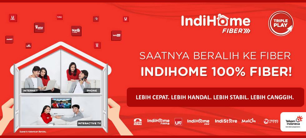 Tarif & Harga Paket WiFi Indihome Per Bulan (Internet Fiber Telkom)