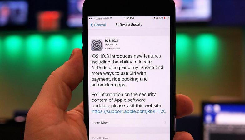 kelebihan iOS 10.3