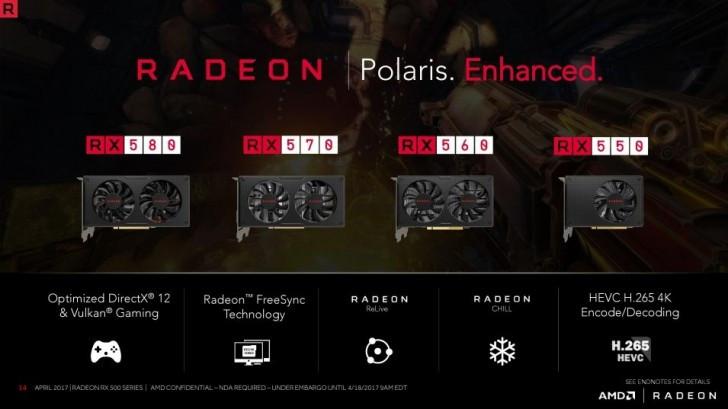 AMD Umumkan Jajaran Kartu Grafis Desktop Baru, Radeon™ RX 580-series
