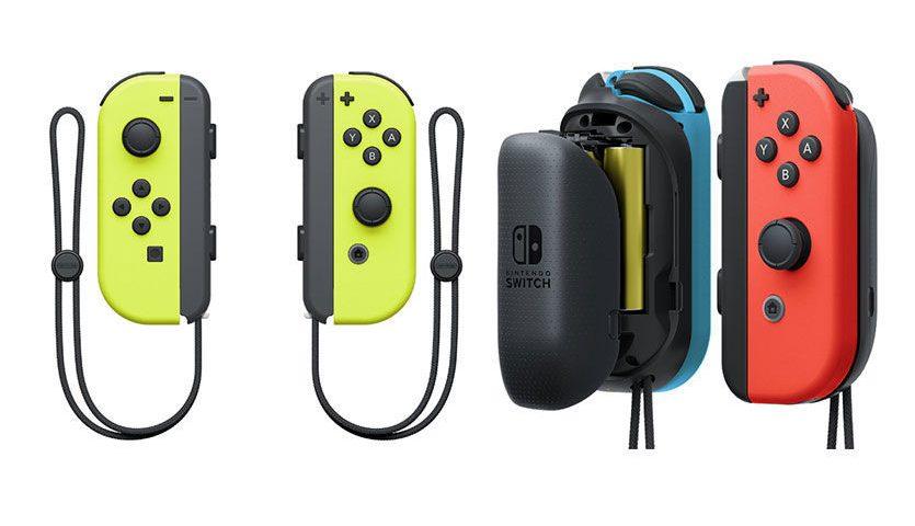Kuning, Warna Baru Joy-Con Nintendo Switch