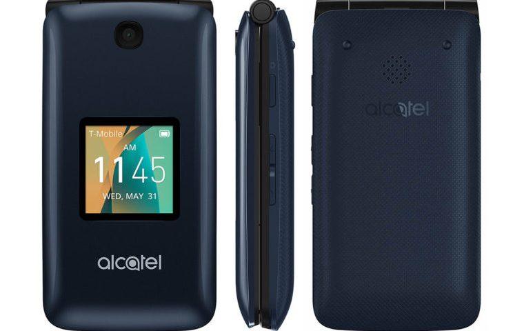Alcatel Go Flip, Ponsel Fitur dengan Desain Lipat