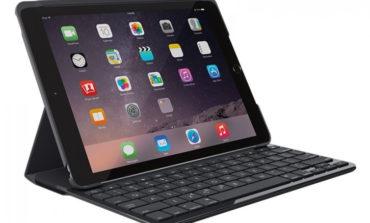 Logitech Slim Folio, Case Keyboard untuk iPad dengan Baterai Sampai 4 Tahun