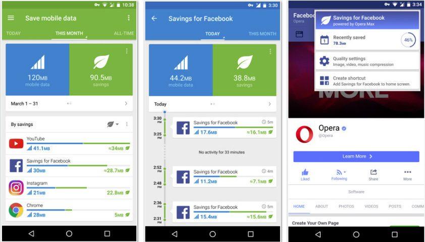 Opera Max 3.0 Versi Terbaru Bawa Desain Baru dan Lebih Hemat Data untuk Akses Facebook
