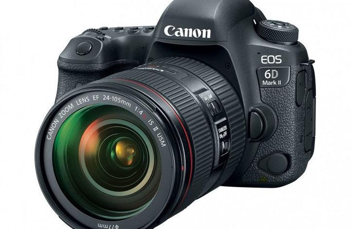 Canon Luncurkan EOS 6D Mark II dan EOS 200D