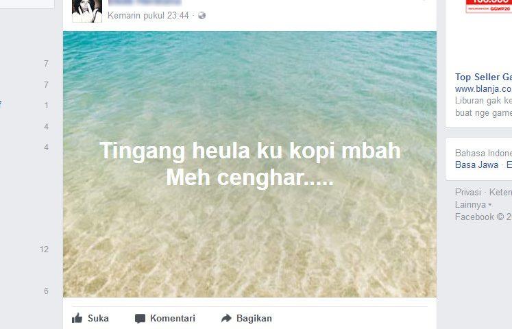 Penasaran Cara Membuat Status Berlatar Foto di Facebook? Begini Bikinnya…