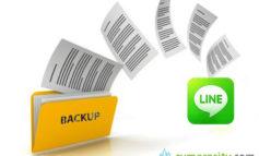 Cara Backup Chat Line di Android dan iPhone