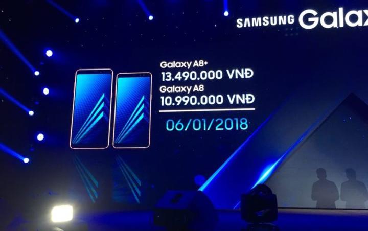 Catat Tanggalnya, ini Waktu Rilis Samsung Galaxy A8 (2018) dan A8+ (2018)