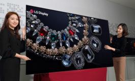 Panel Layar OLED 8-Inci 8K Pertama di Dunia Diluncurkan Oleh LG